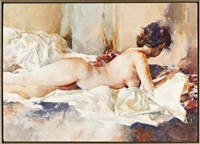 female nude by william aiken