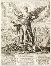 le triomphe de la mort et de la religion (after m. de vos) by pieter balten