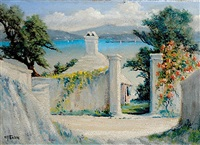 jail lane, sw sevreges, bermuda by w. francis snow