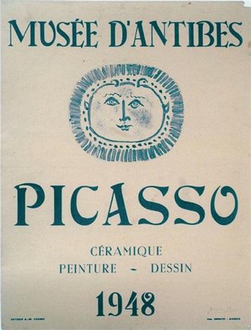 céramique peinture dessin musée dantibes by pablo picasso