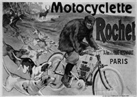 motocyclette rochet by posters: motorcycles