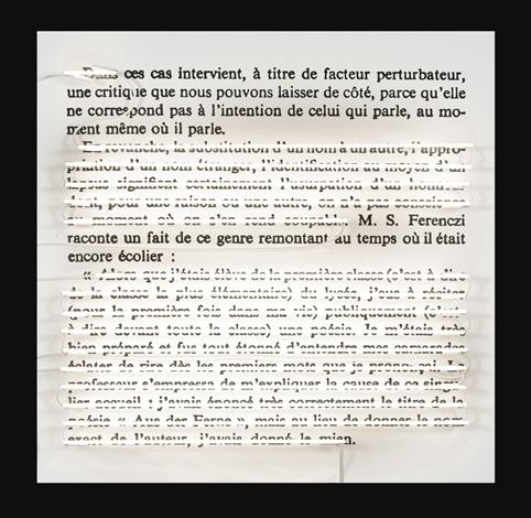 Word Sentence Paragraph 1 By Joseph Kosuth On Artnet