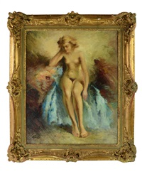 nude woman by alexander tolstoy