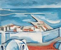 port d'alger by georges le poitevin