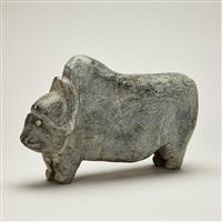 musk ox by john kavik