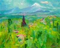 mount ararat by grigori azizyan