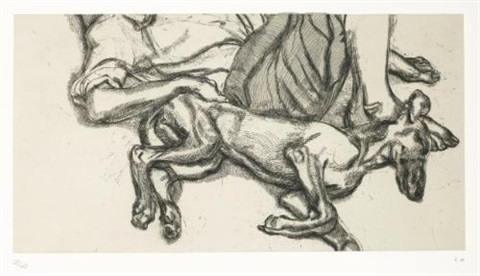 pluto by lucian freud