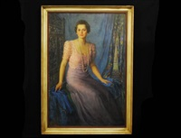 portrait of a lady by lillian adams