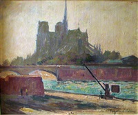 les quais de seine by raymond pallier