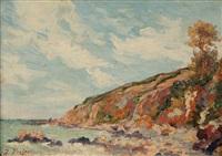 paysage de bord de mer by jacinthe pozier