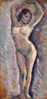 femme nue by lucie cousturier