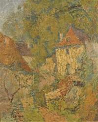 paysage près de verdelais by joseph louis lépine