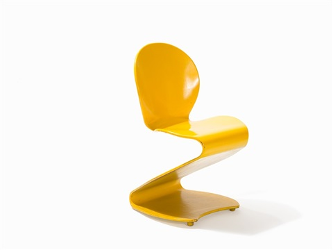 Two S Chairs Mod. S275/276 By Verner Panton