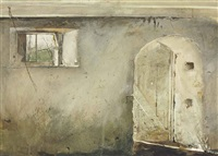 stable door by andrew wyeth