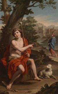 saint jean baptiste dans un paysage by jacopo alessandro calvi
