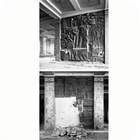 baku. within the time space (diptych) by natalia nosova