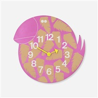 toucan zoo timer wall clock, model 2322 by george nelson & associates