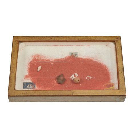 untitled sand box by joseph cornell