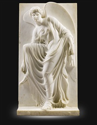 relief with nike adjusting her sandal (after the antique) by anonymous-british (19)