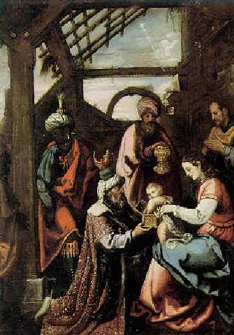 De Hellige Tre Konger By Spanish School Valencian 1617 On Artnet