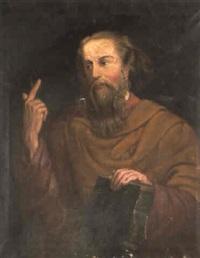 portrait of a prophet by lionello spada