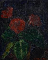 vase fleuri by andres de santa maria