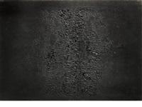 cretto nero e by alberto burri