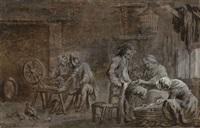 l'atelier de couture by louis nicolas van blarenberghe