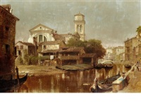 venetian backwater by henry courtney selous