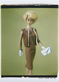 untitled (from barbie millicent roberts) by david levinthal