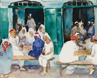cafe in tunis by martha walter