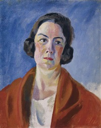 portrait d'hélène marre by robert delaunay
