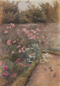 a rose border by minnie smythe