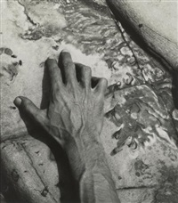 hand of william larue by minor white