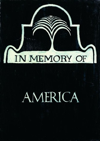 in memory of america by claudia hart