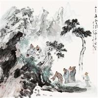 山景处处能生情 by gu ping
