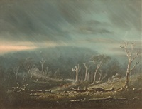 droving in a storm by william short sr.
