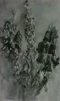 glockenblumen und rittersporn by edith naske