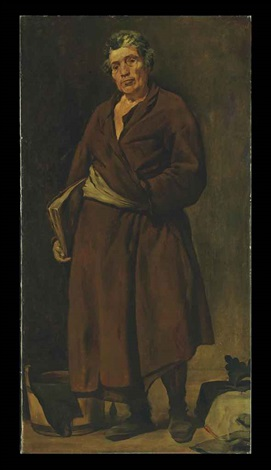 aesop after velázquez by william merritt chase