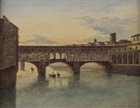 firenze, il ponte vecchio by joannes josephus vervloet