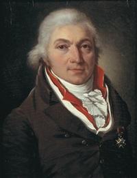 le portrait de monsieur roussillon, chevalier de saint louis seigneur de marimbois et dampvitoux by françois jean (jean françois) sablet