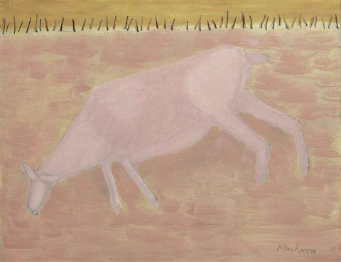 gentle grazer by milton avery