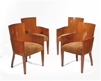 hollywood chairs (set of 4) by ralph lauren