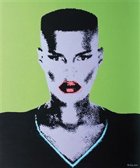 grace jones by martin torsloff