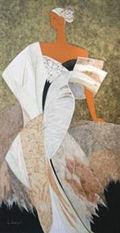 julia (panneau n° 8210) by elisabeth loesch
