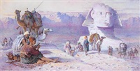 the great sphinx of giza by joseph austin benwell