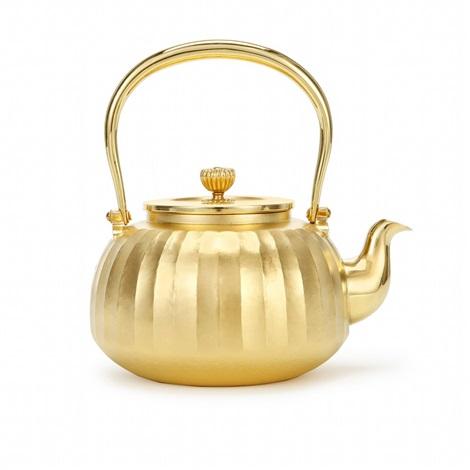 pure gold pot