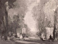 the gypsy camp by frederick rushing roe