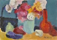 bouquet au vase bleu by marie astoin
