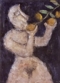 figure avec fruit by nonda